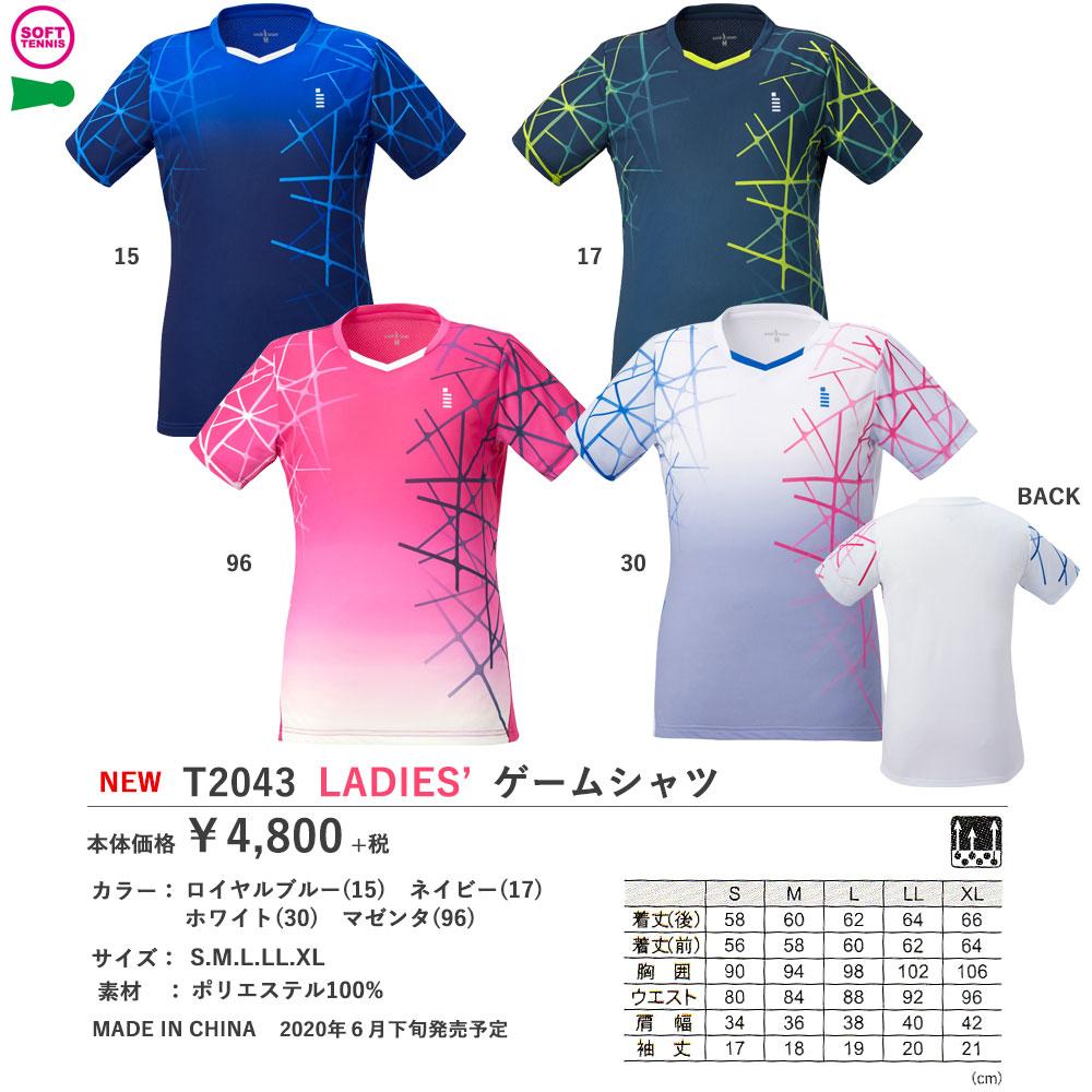 LADIES'ゲームシャツ