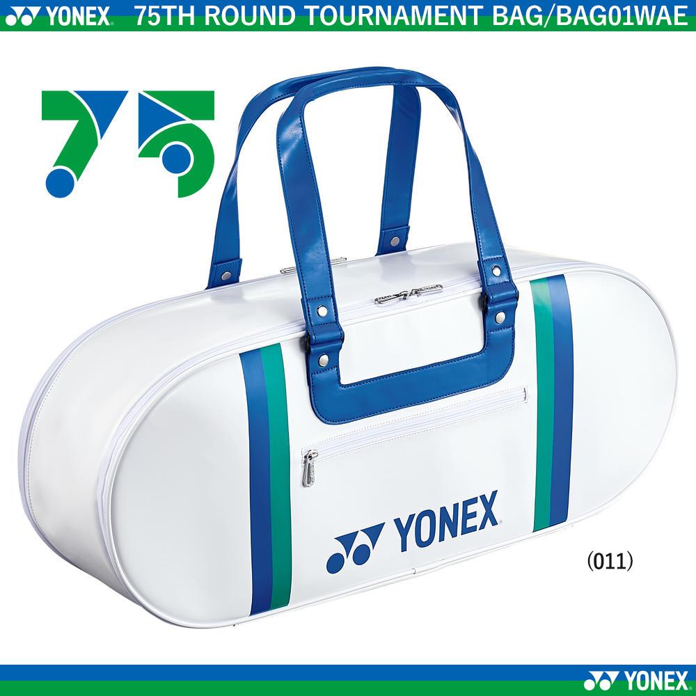 75TH ラウンドトーナメントバッグ<テニス2本用>