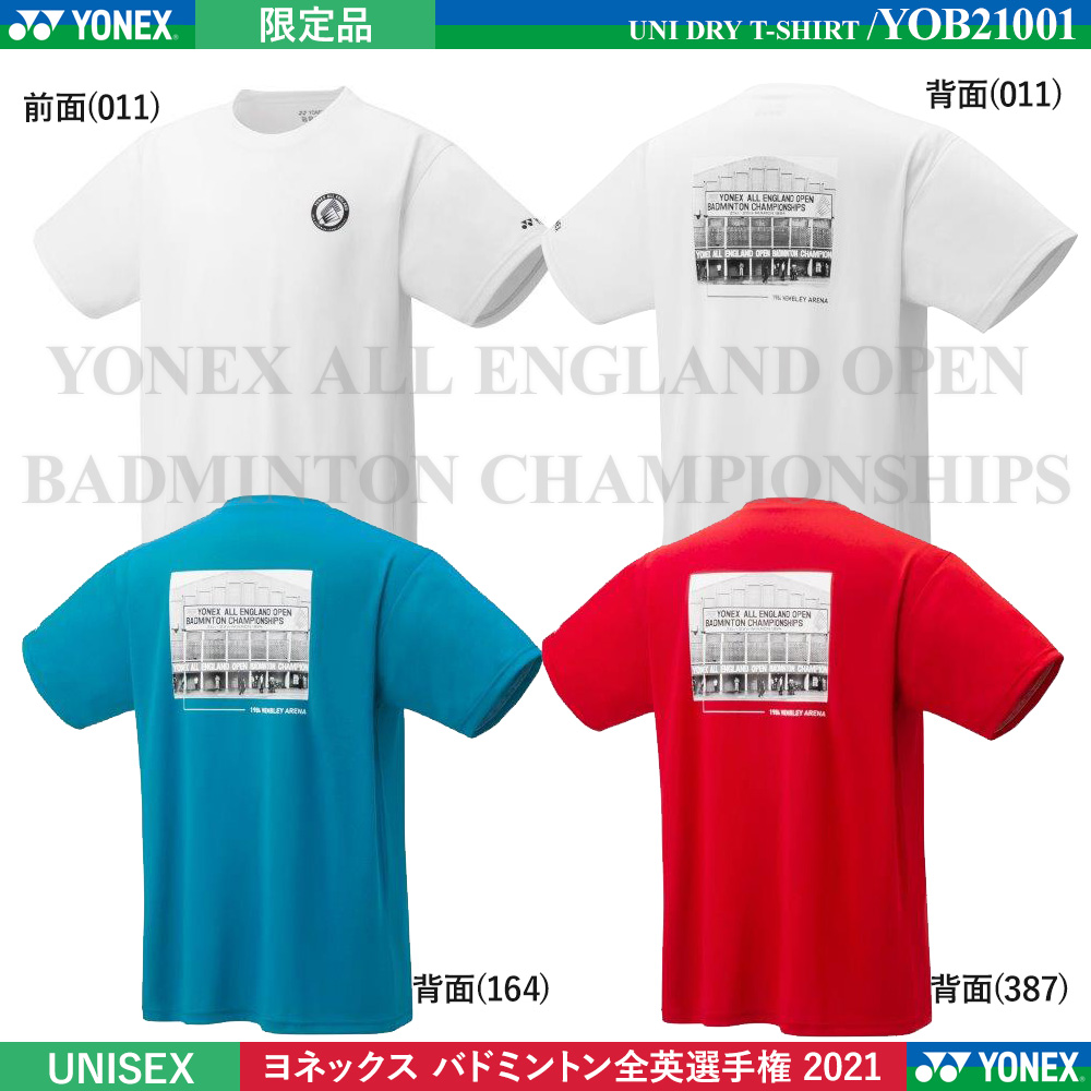[limited item] UNI DRY T-SHIRT [YONEX ALL ENGLAND OPEN BADMINTON CHAMPIONSHIPS]