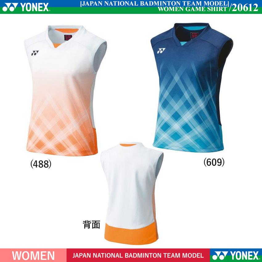 WOMEN ゲームシャツ(ノースリーブ) [2021年日本代表モデル]/2021年2月中旬発売予定